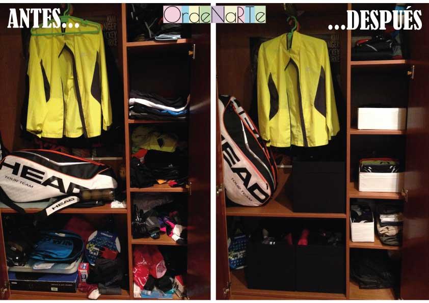 Ordenar el armario de una persona ordenada con mucho - Ordenar armarios ropa ...