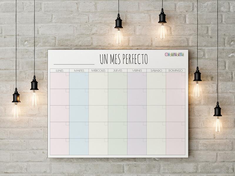 planning mensual