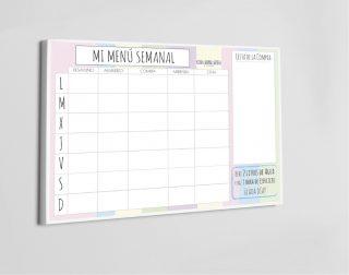 menu plan rosa