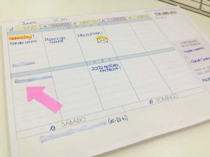 cómo planificar las tareas de la semana