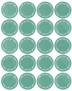 Imprime estas etiquetas en papel adhesivo y pégalas en tus botes y cajas