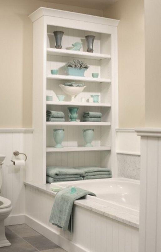 Soluciones de almacenaje para ba os peque os y con poco for Cuelga toallas bano