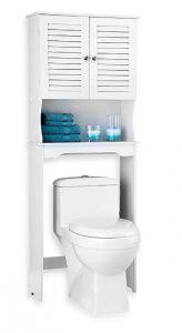 Soluciones de almacenaje para ba os peque os y con poco - Mueble para encima del inodoro ...