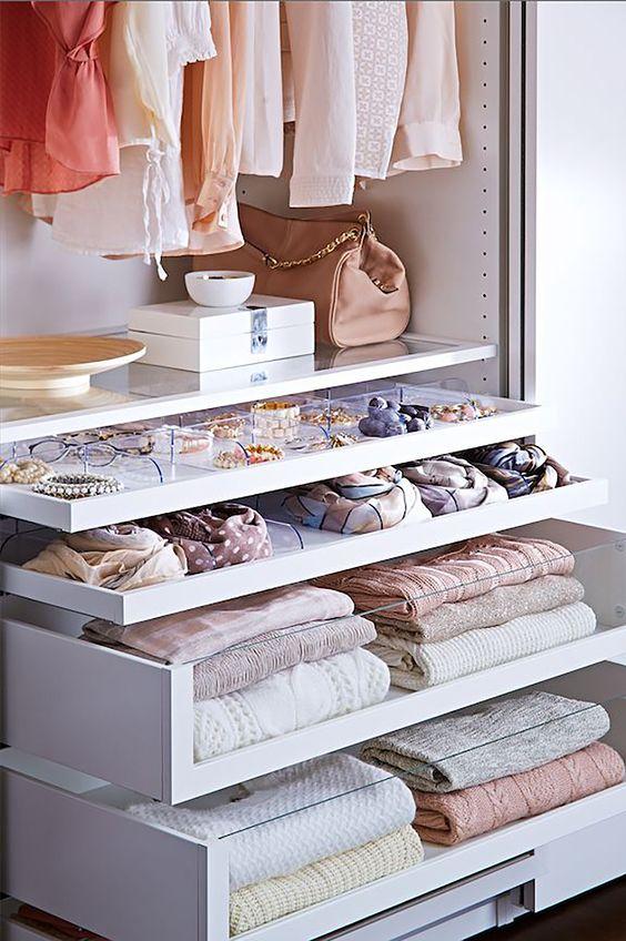 ordenar el armario - Como Organizar Un Armario
