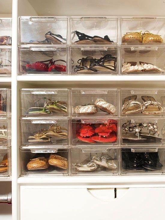 Cómo ordenar un armario profundo sin gastar mucho dinero