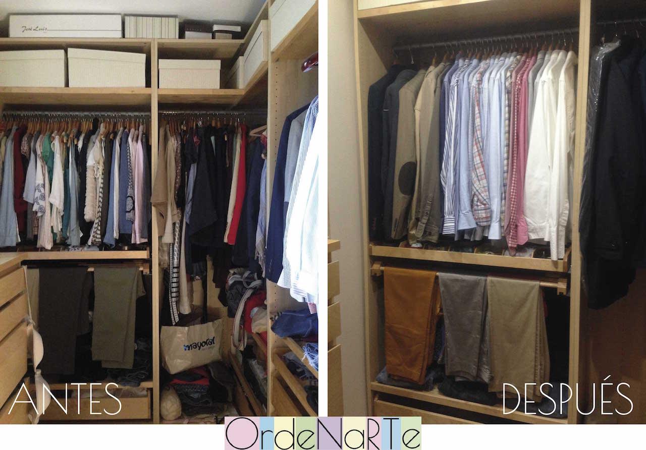 ¿cómo ordenar un vestidor?