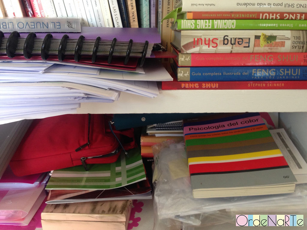 necesito ordenar los papeles en mi casa