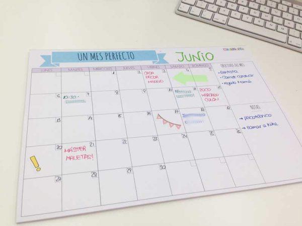planificar el mes entero