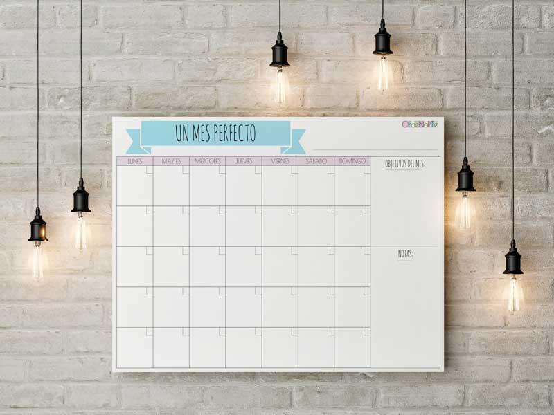 organizar la agenda de forma fácil