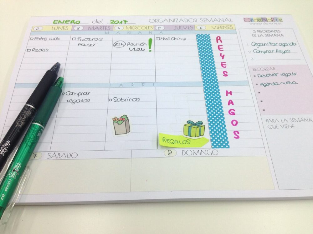 planificador-semana-agenda