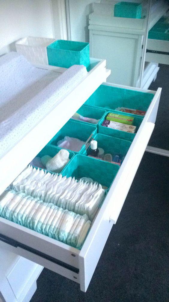 556b5449f6760 Ideas para guardar la ropa del bebé y mantener el armario bien ordenado